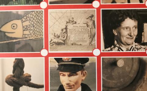 Foto van gedeelte speurtocht voor kinderen in het museum